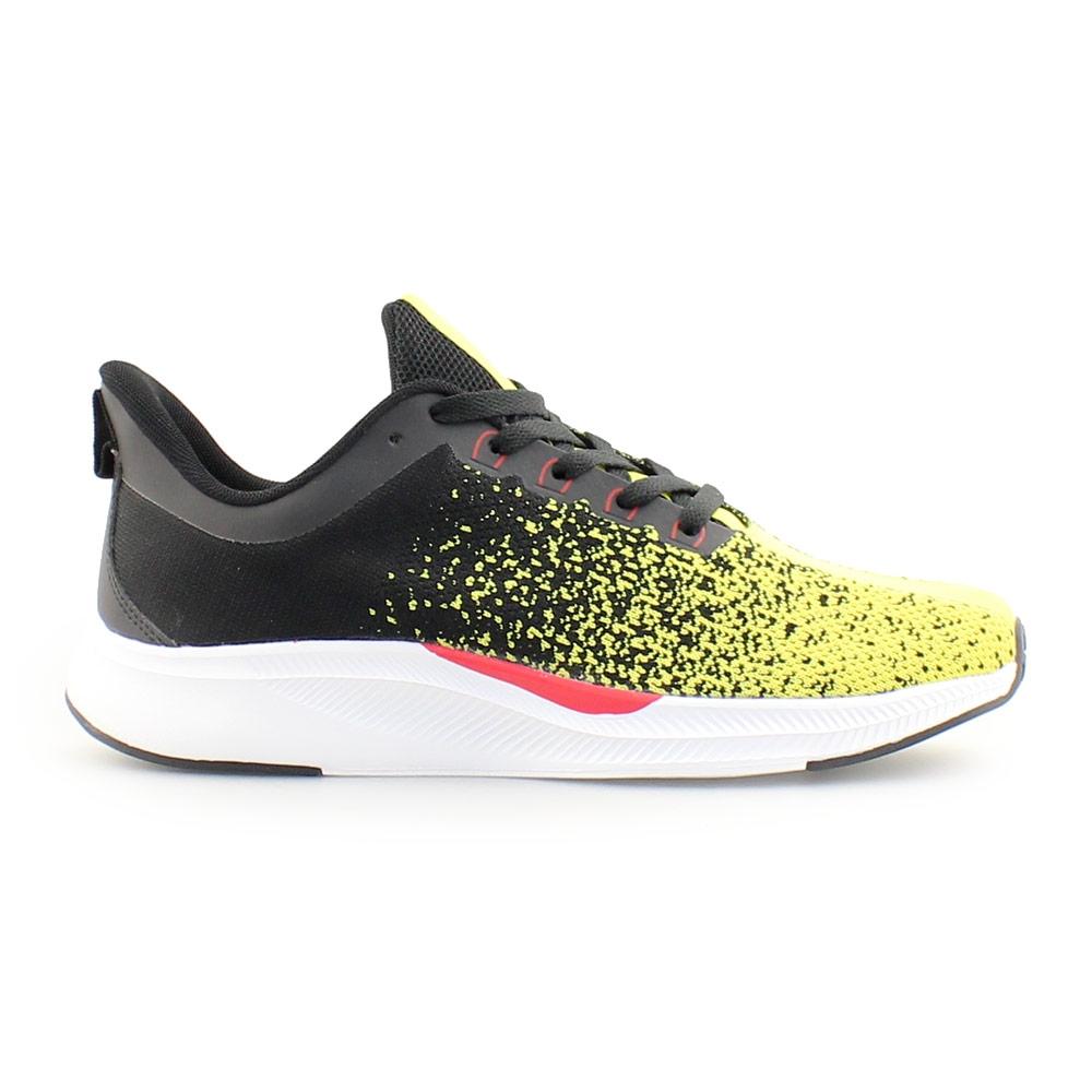Ανδρικά sneakers δίχρωμα Κίτρινο/Μαύρο