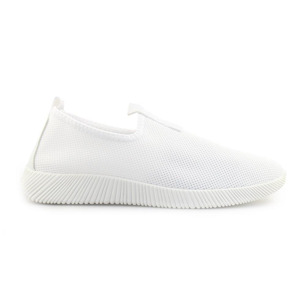 Ανδρικά sneakers ελαστικά Λευκό