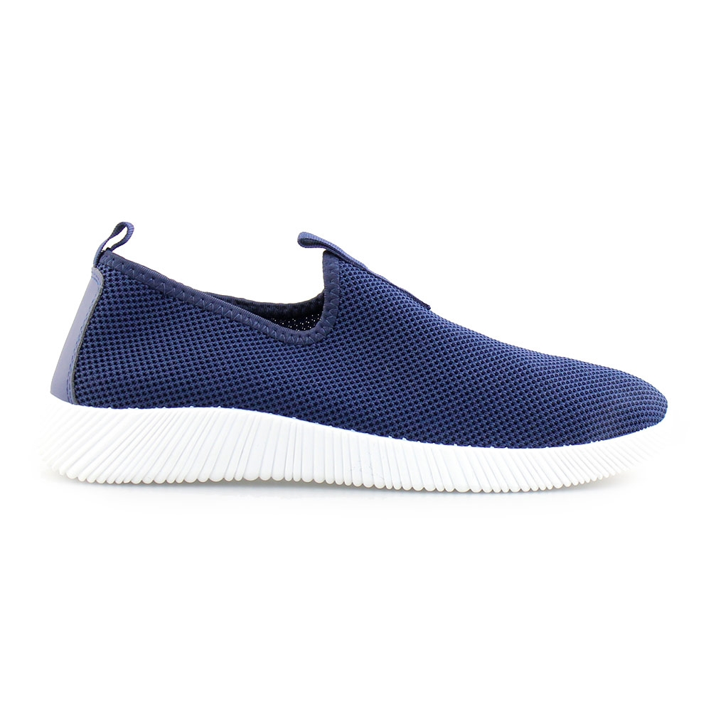 Ανδρικά sneakers ελαστικά Μπλε/Λευκό