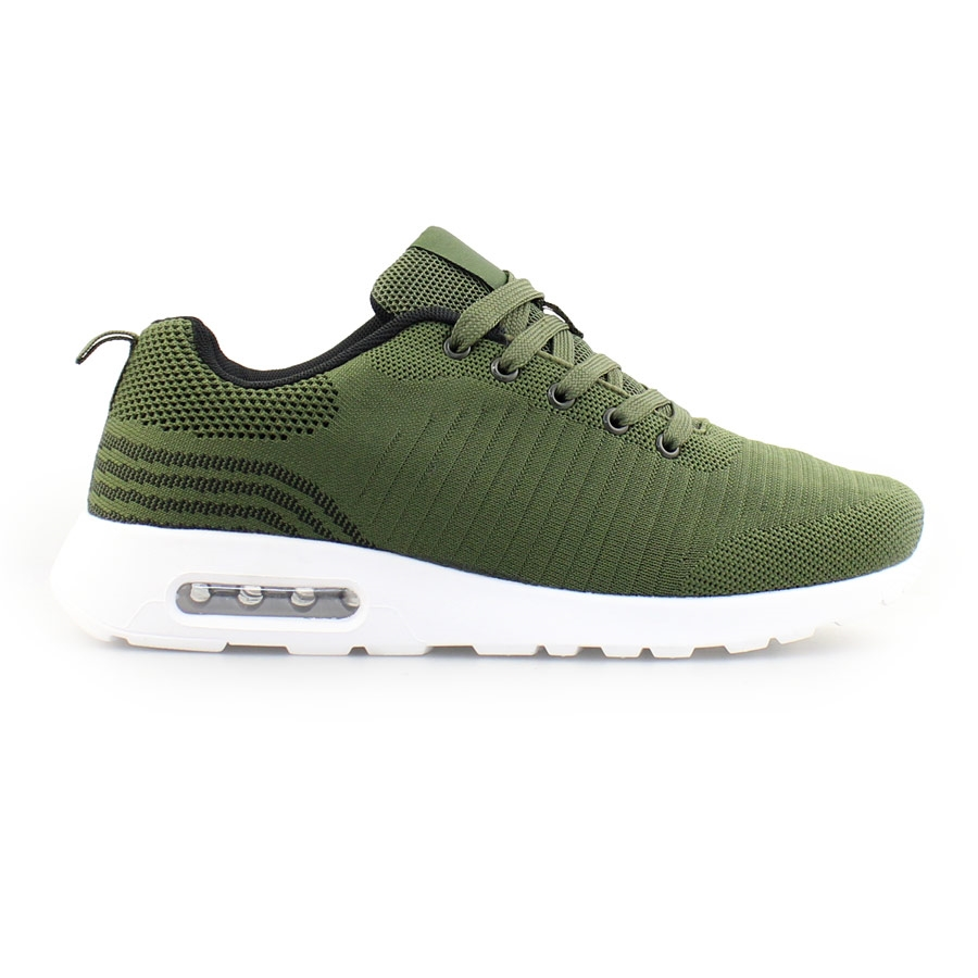 92c266569d1e Inshoes Ανδρικά sneakers με αερόσολα Χακί
