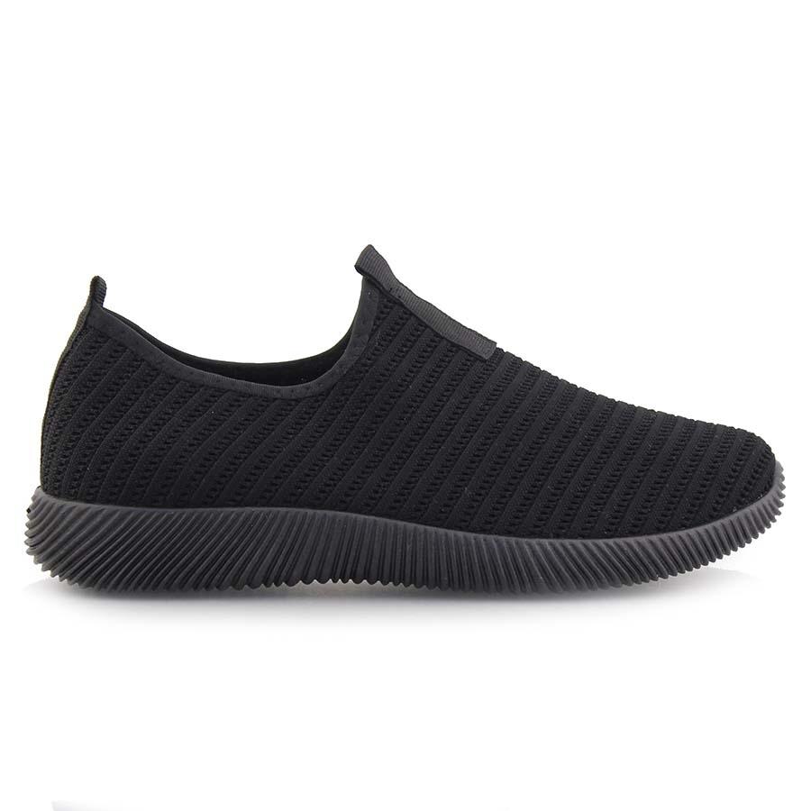 Ανδρικά sneakers ελαστικά Μαύρο