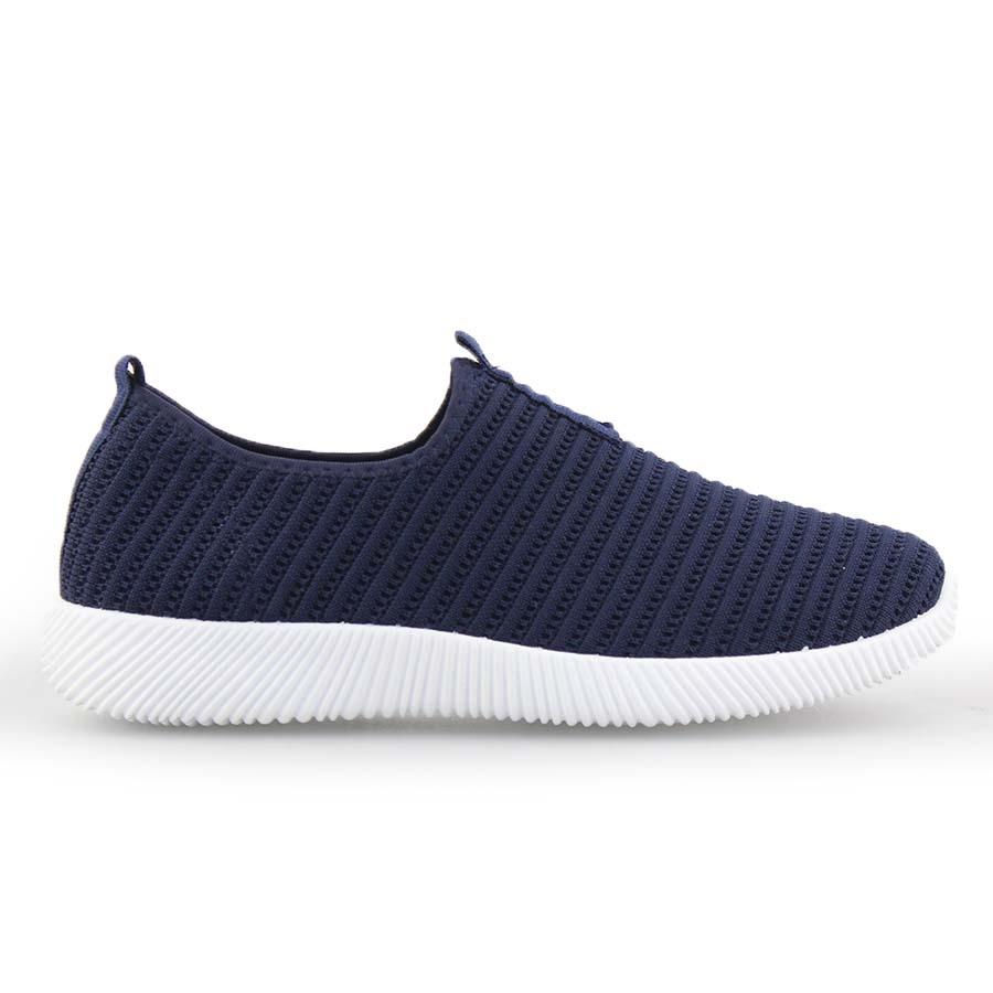 Ανδρικά sneakers ελαστικά Navy