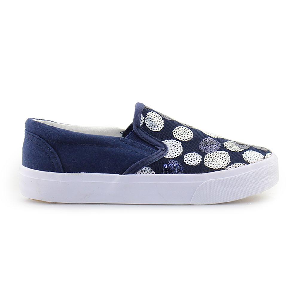 Παιδικά sneakers με παγιέτες Μπλε