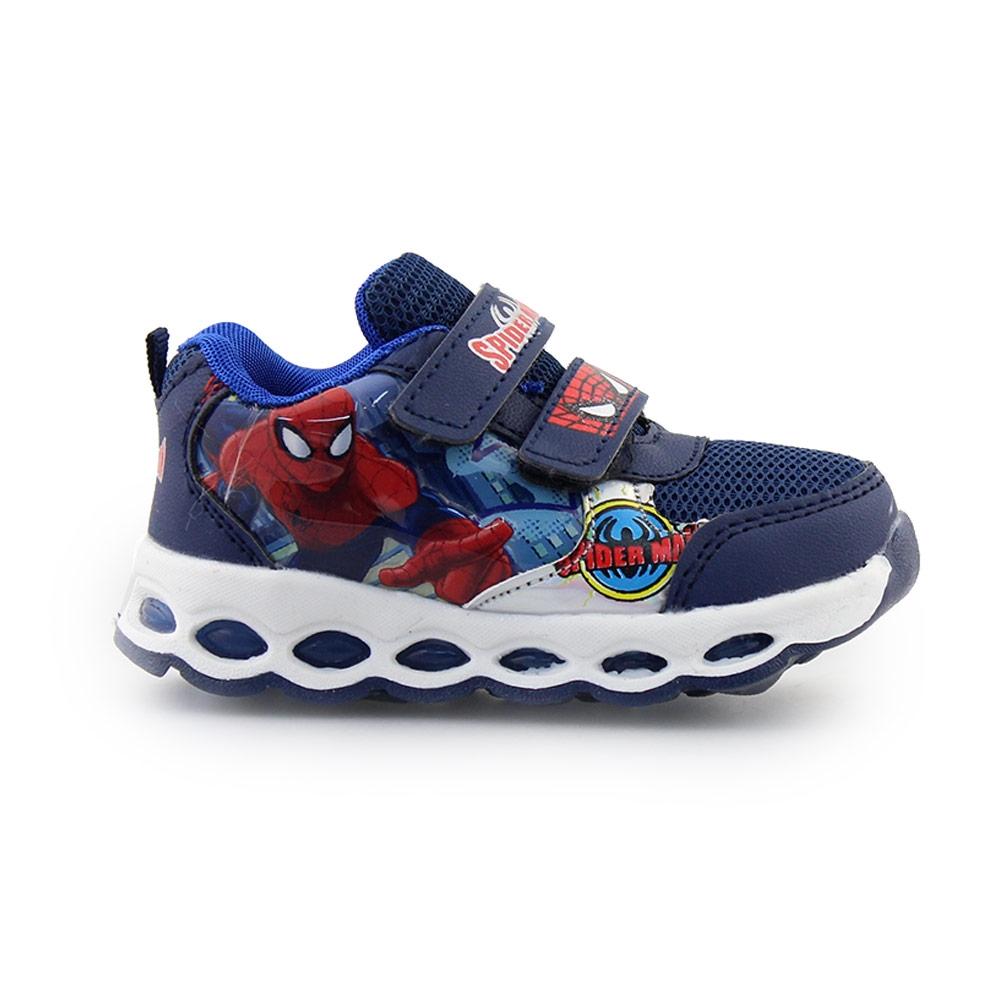 Παιδικά αθλητικά Spiderman με φωτάκια Μπλε