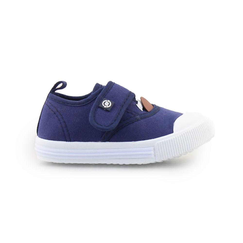 Παιδικά sneakers με αυτοκόλλητο Navy