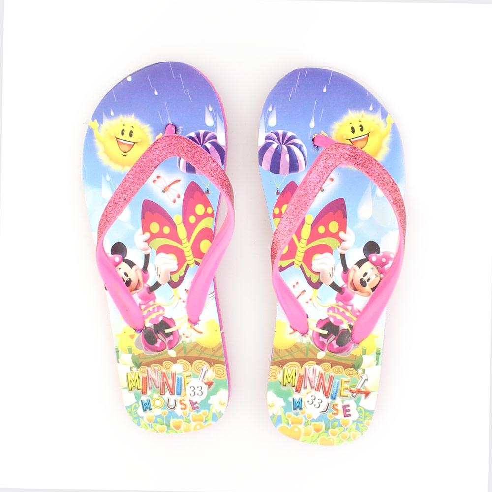 Παιδικές σαγιονάρες με Minnie Mouse Ροζ