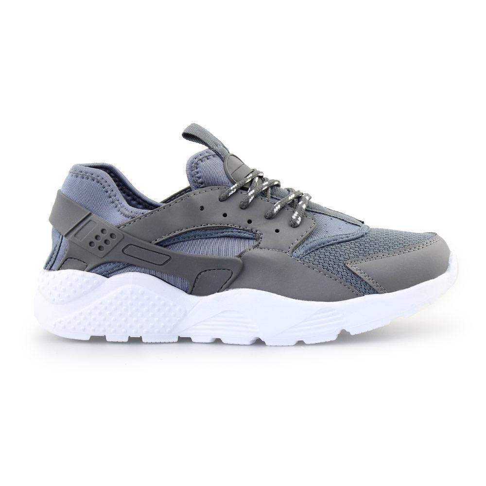 Ανδρικά sneakers με ελαστικό υλικό Γκρι
