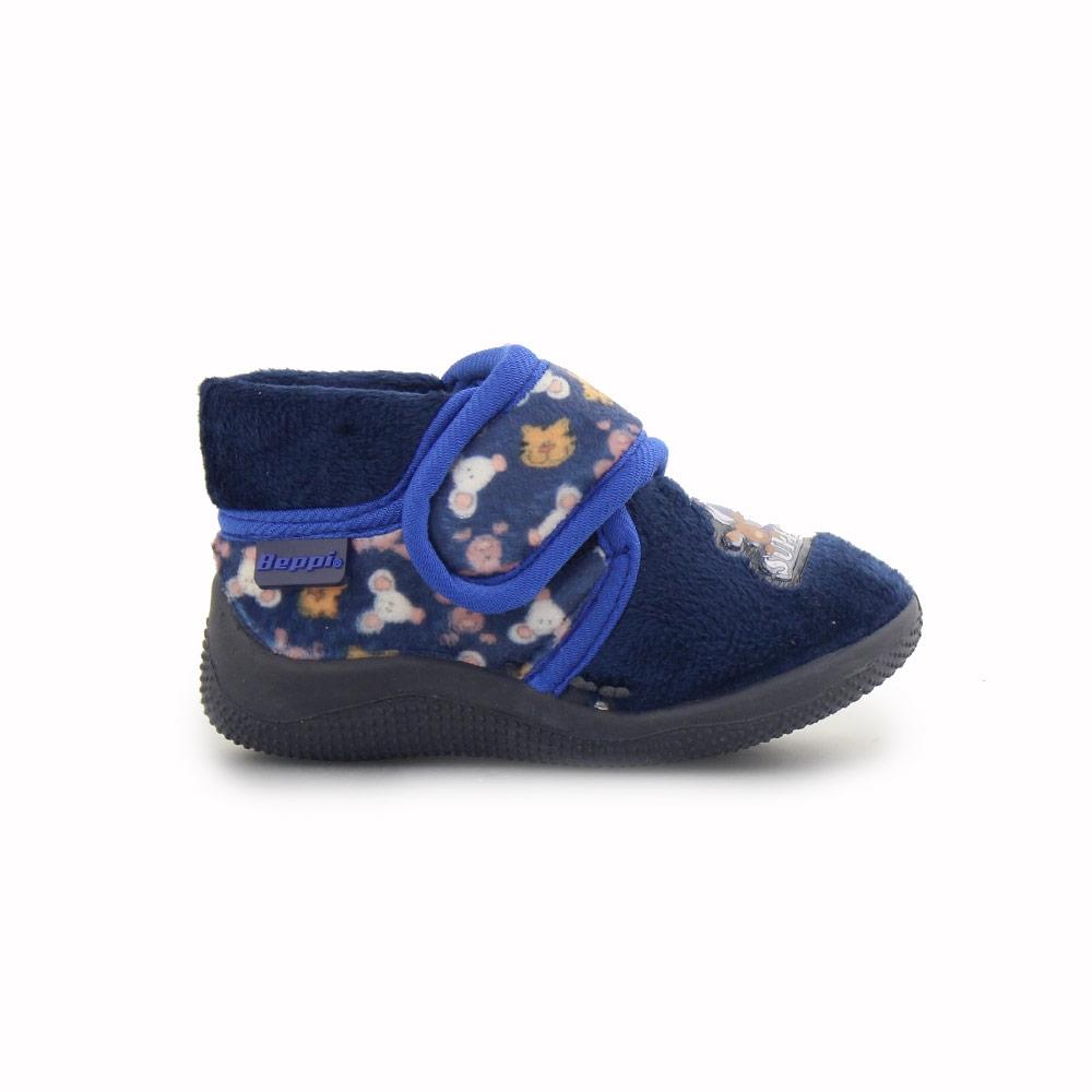 Παιδικές παντόφλες με ζωάκια Μπλε