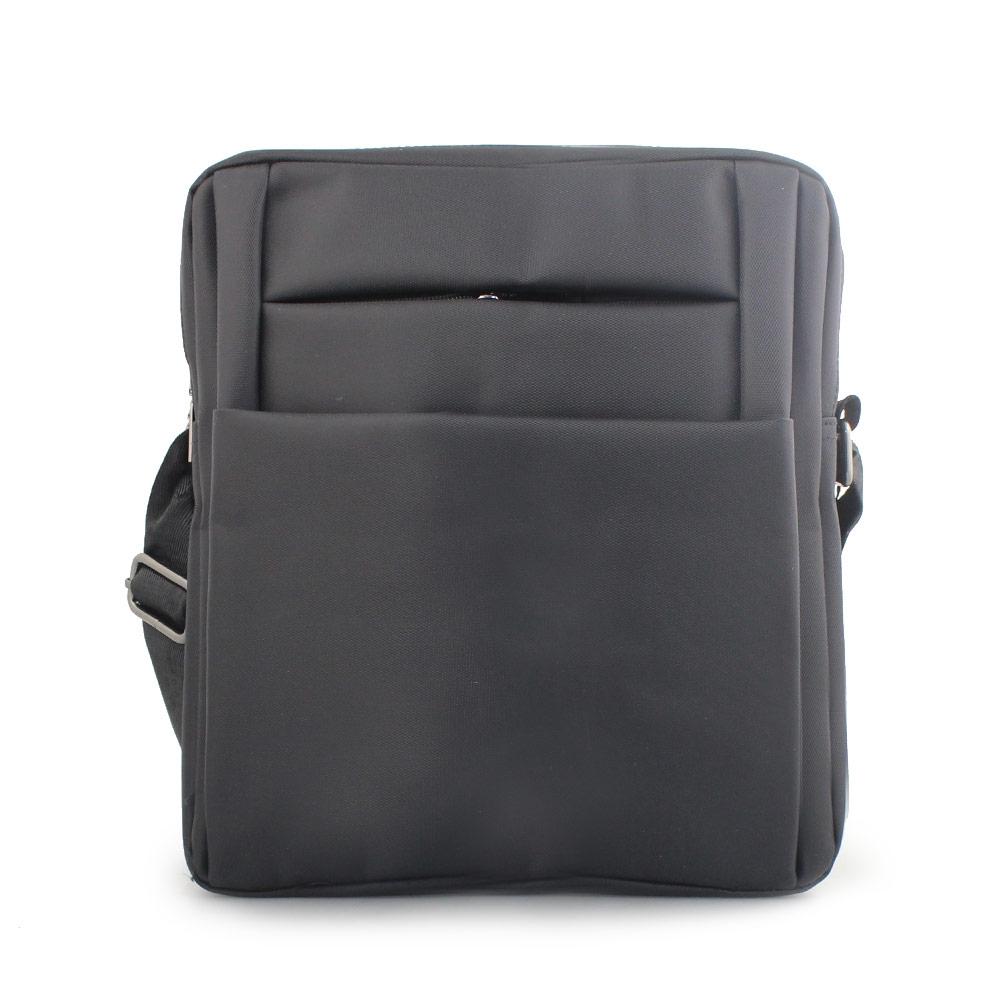 Ανδρικές τσάντες ώμου με εξωτερική θήκη Μαύρο