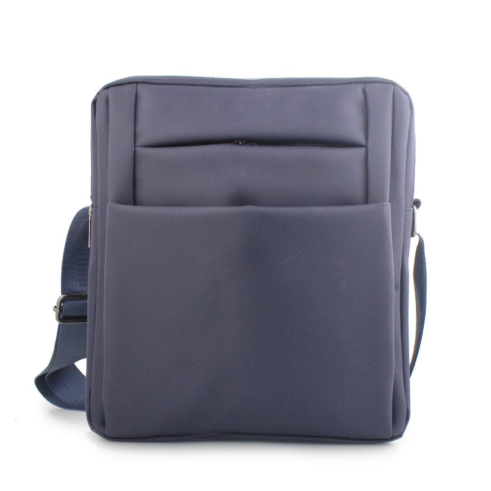 Ανδρικές τσάντες ώμου με εξωτερική θήκη Μπλε