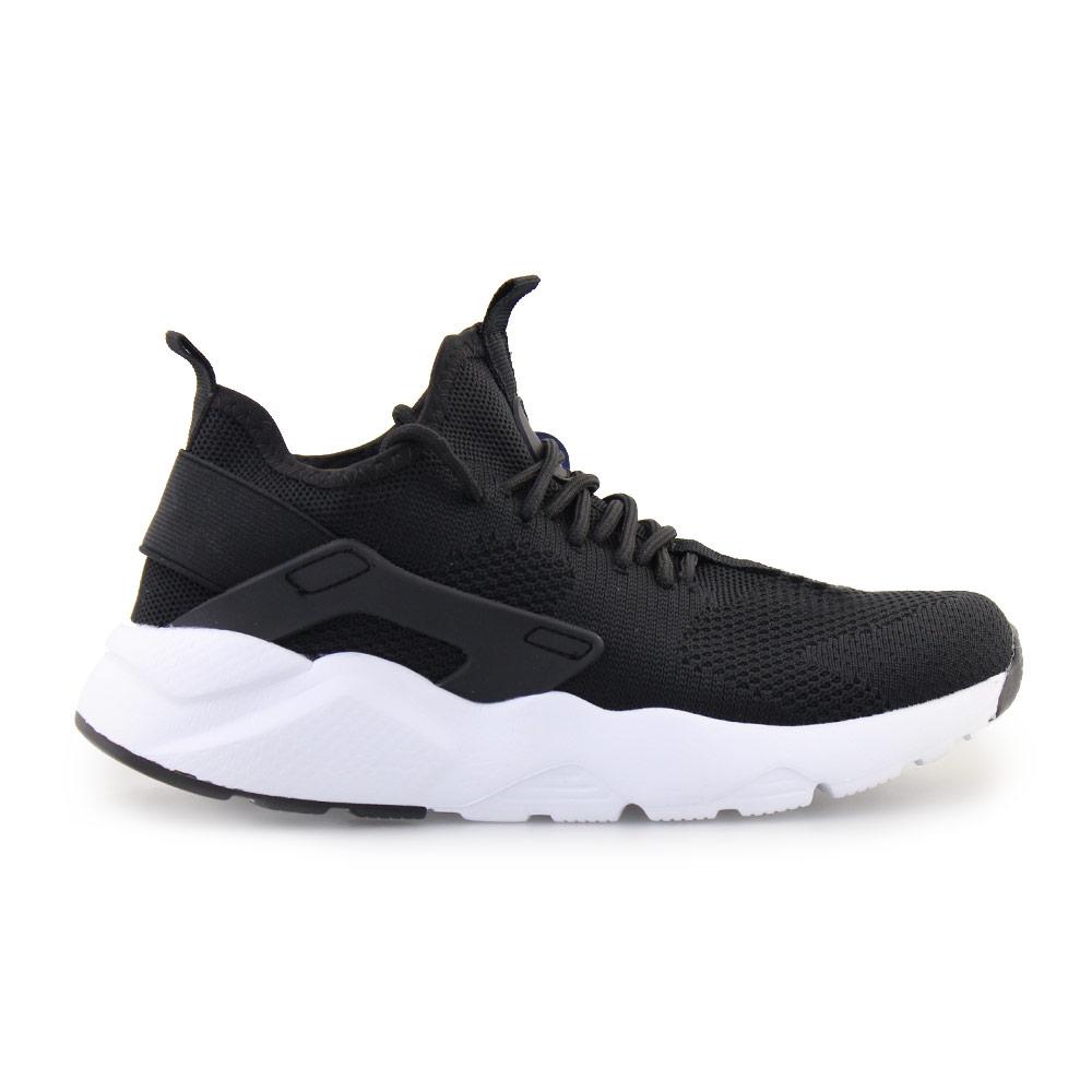 Γυναικεία sneakers με λάστιχο Μαύρο