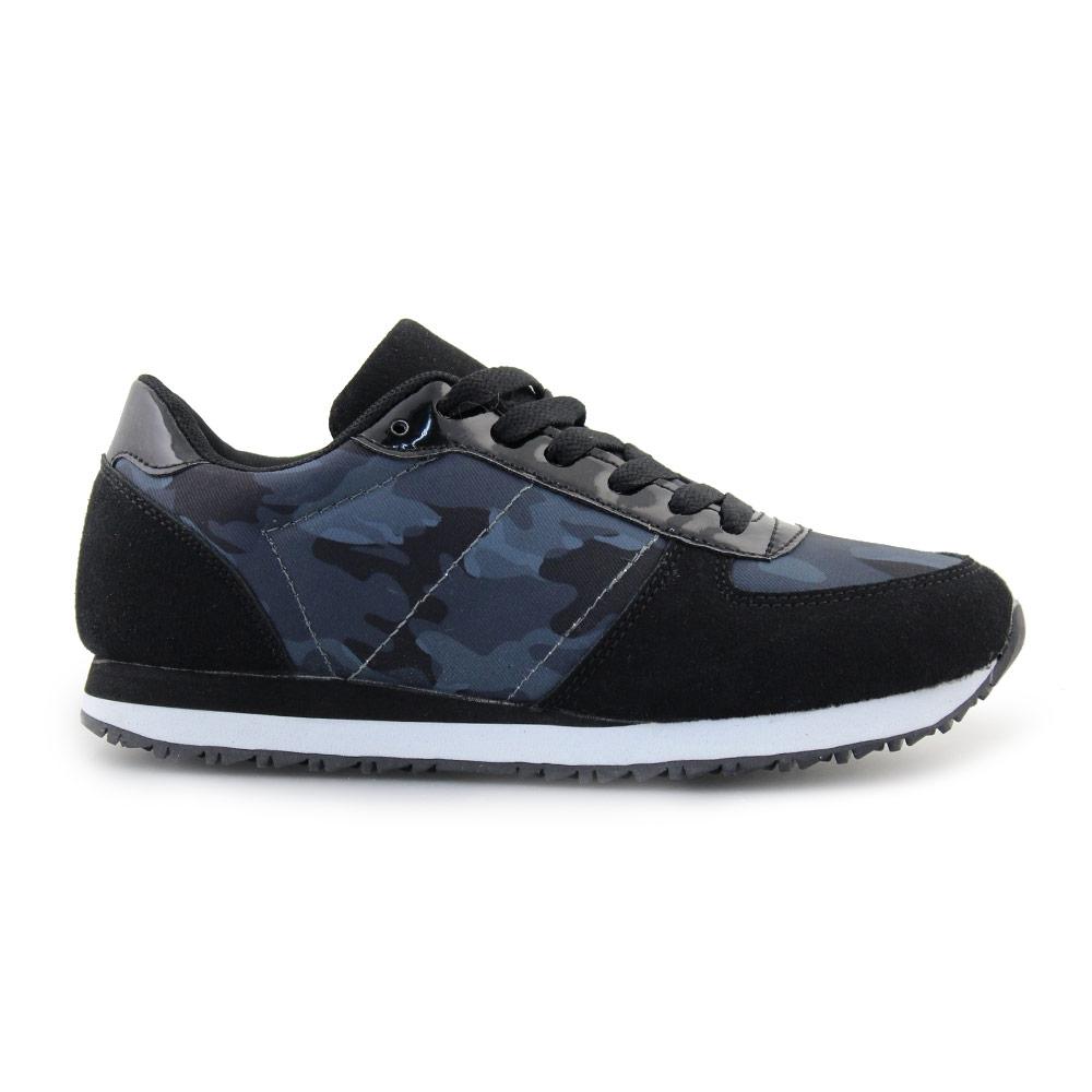 Γυναικεία sneakers με σχέδιο παραλλαγής Μαύρο