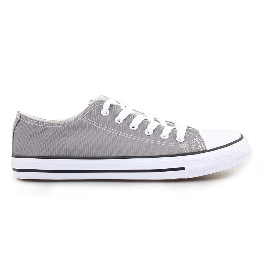 Ανδρικά sneakers με κορδόνια Γκρι