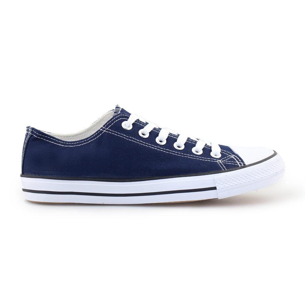 Ανδρικά sneakers με κορδόνια Μπλε