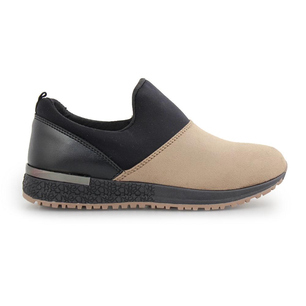 Γυναικεία sneakers με λεπτομέρεια στη σόλα Πούρο