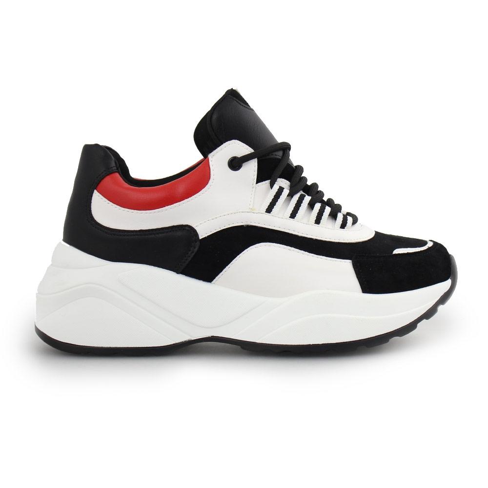 Γυναικεία sneakers πολύχρωμα Μαύρο