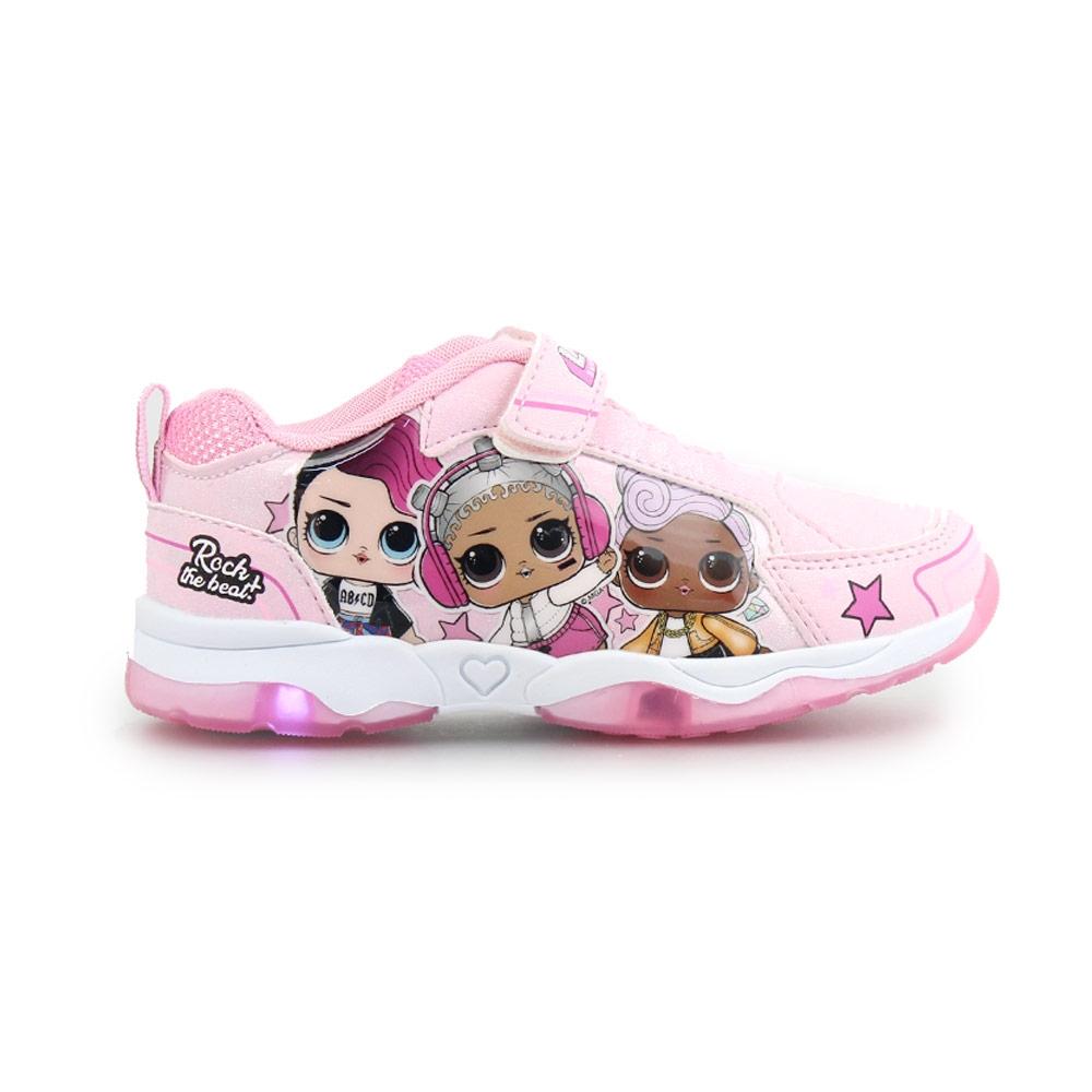 Παιδικά αθλητικά με Lol Surprise Dolls και φωτάκια Ροζ