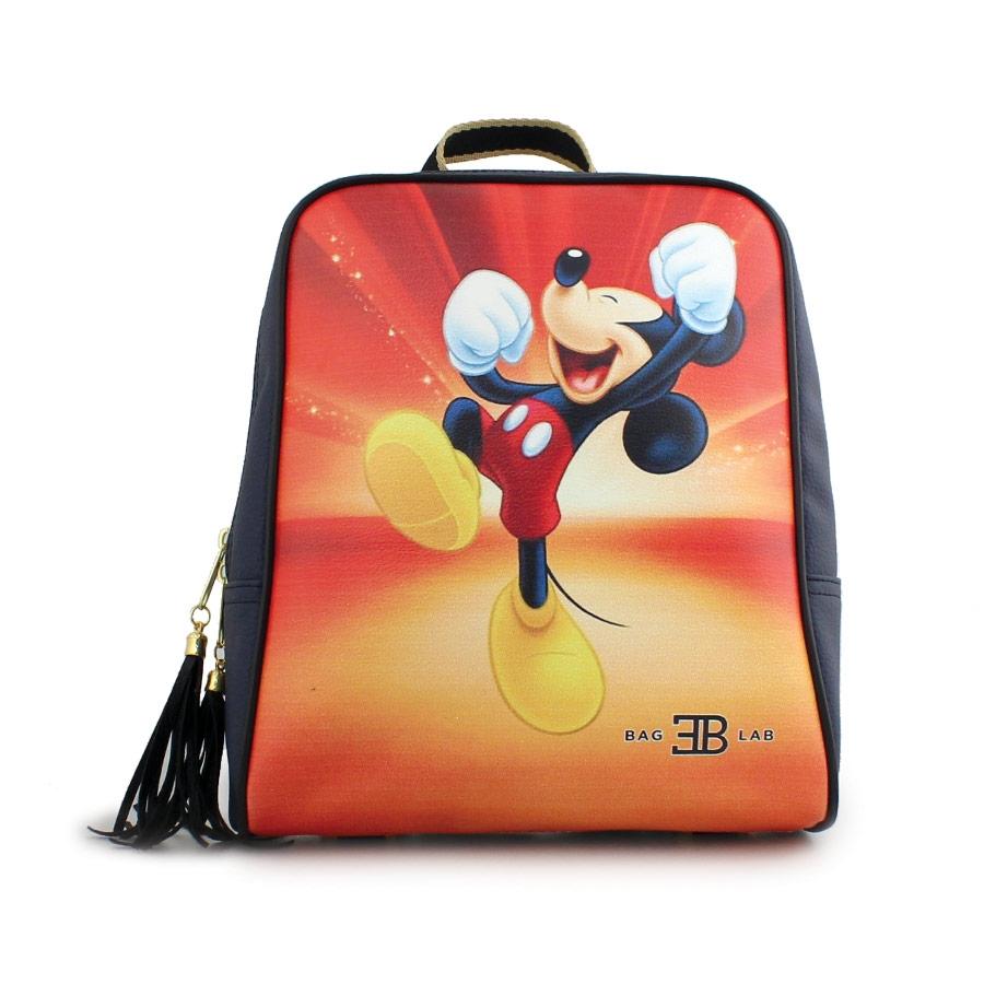 Γυναικεία σακίδια πλάτης με τον Mickey mouse Navy