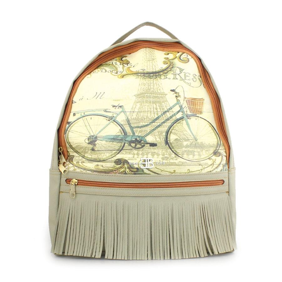 Γυναικεία σακίδια πλάτης με ποδήλατο Γκρι