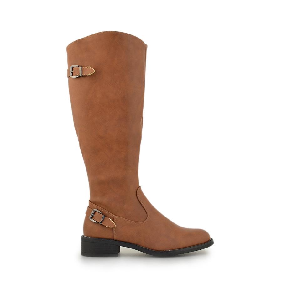 Γυναικείες μπότες σε απλή γραμμή Ταμπά