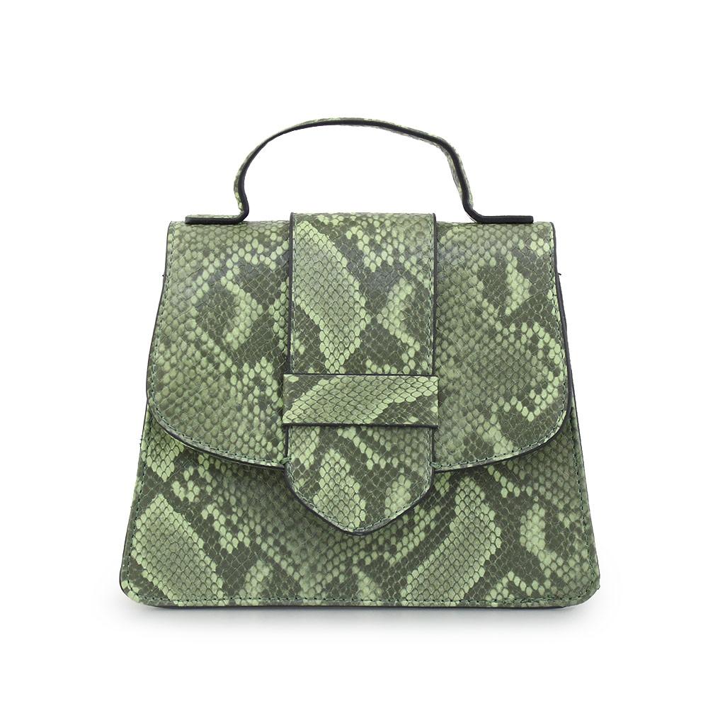 Γυναικείες τσάντες χειρός κροκό Πράσινο