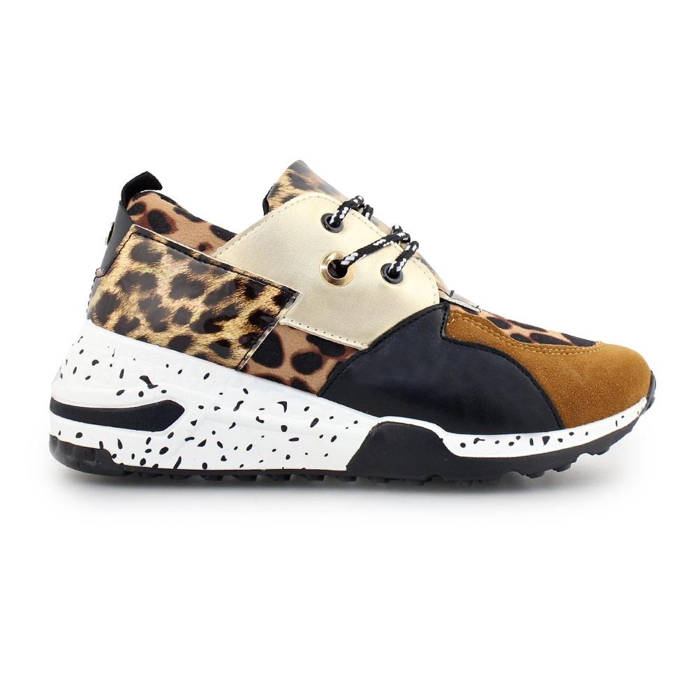 Γυναικεία sneakers με μοτίβο Λεοπάρ