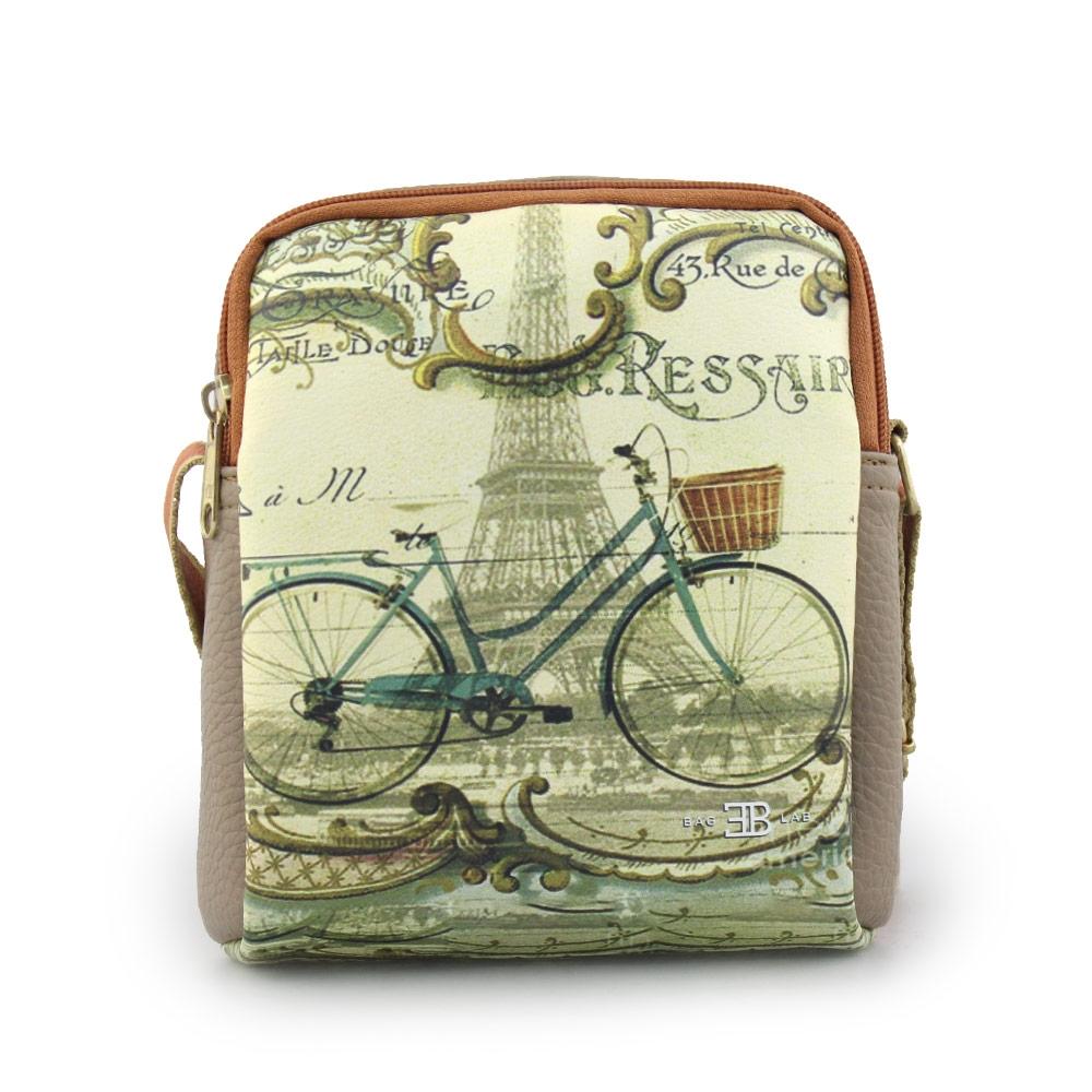Γυναικείες τσάντες ώμου με print ποδήλατο Πούρο
