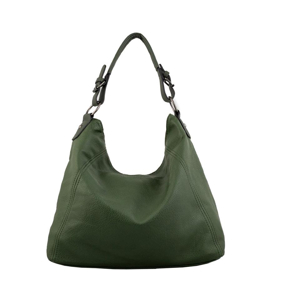 Γυναικείες τσάντες χειρός μονόχρωμες Πράσινο