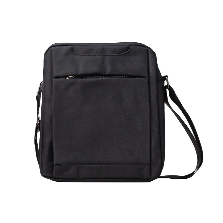 Ανδρικές τσάντες ώμου με φερμουάρ Μαύρο