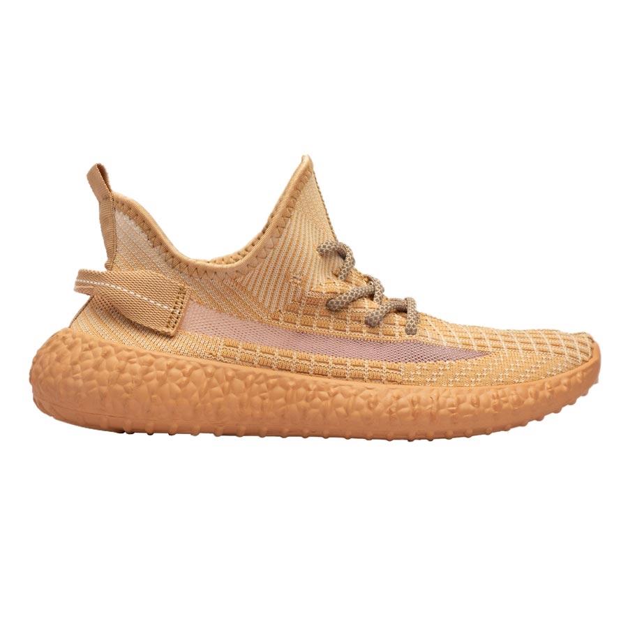 Ανδρικά sneakers ελαστικά με λεπτομέρειες Πορτοκαλί