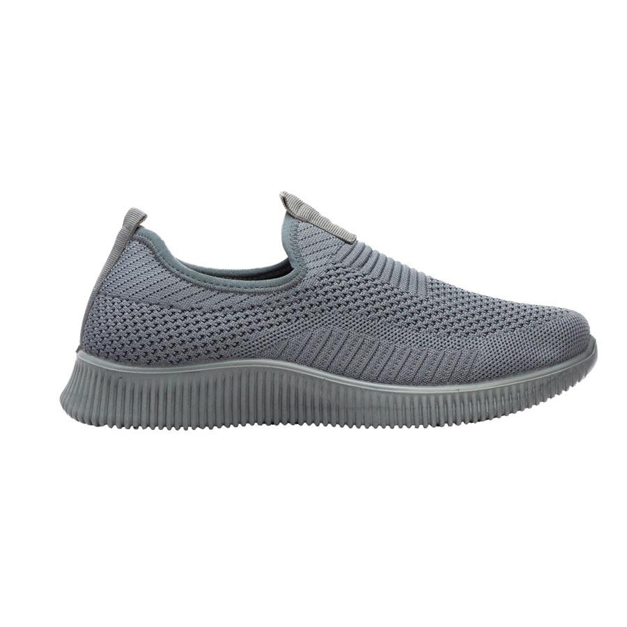 Ανδρικά sneakers υφασμάτινα ελαστικά Γκρι