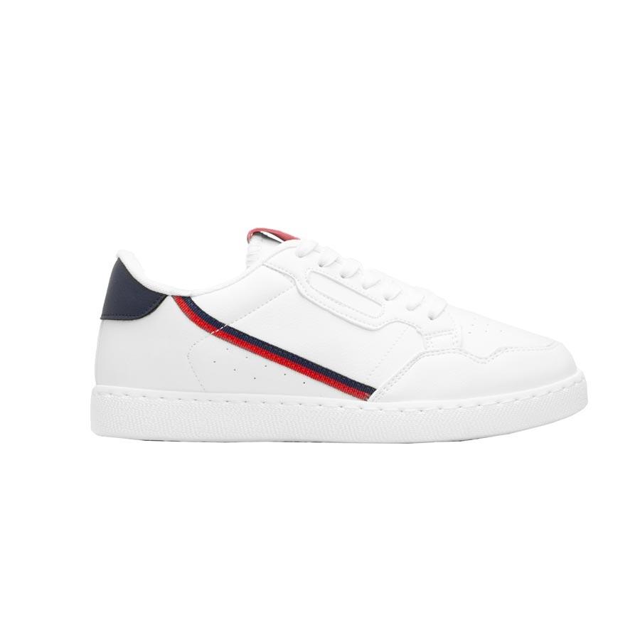 Ανδρικά sneakers μονόχρωμα Λευκό/Μπλε
