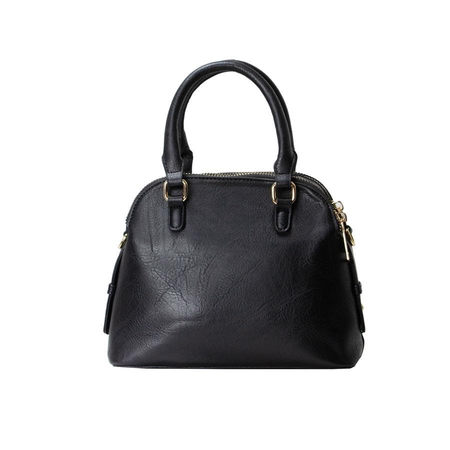 Γυναικεία τσάντα ώμου μονόχρωμες Μαύρο