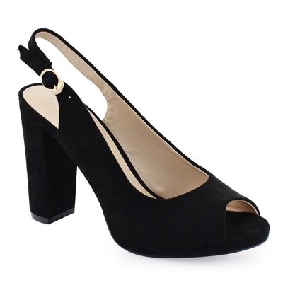 Γυναικεία πέδιλα με χοντρό καρέ τακούνι - Γυναικεία πέδιλα Inshoes ... abfea3840ed