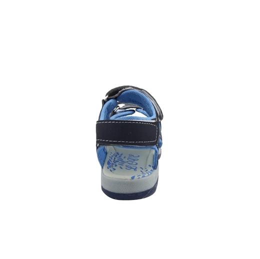 Εικόνα της Παιδικά πέδιλα δίχρωμα με τριπλό αυτοκόλλητο Μπλε