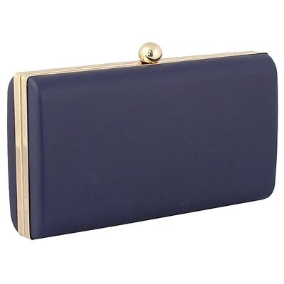 Φάκελοι clutch με κυκλικό κούμπωμα Μπλε μπλε