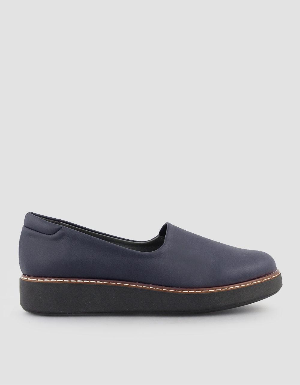 ba8dc1cb308 Γυναικεία loafers σε απλή γραμμή Μπλε