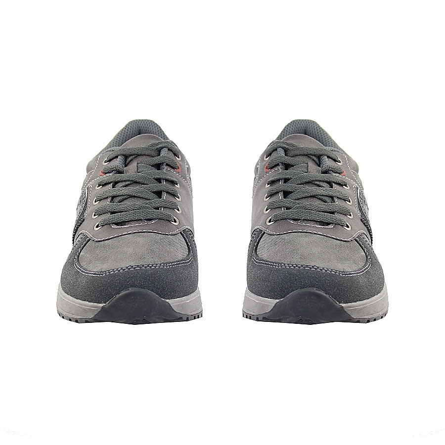 Εικόνα από Ανδρικά sneakers με jean λεπτομέρεια Γκρι