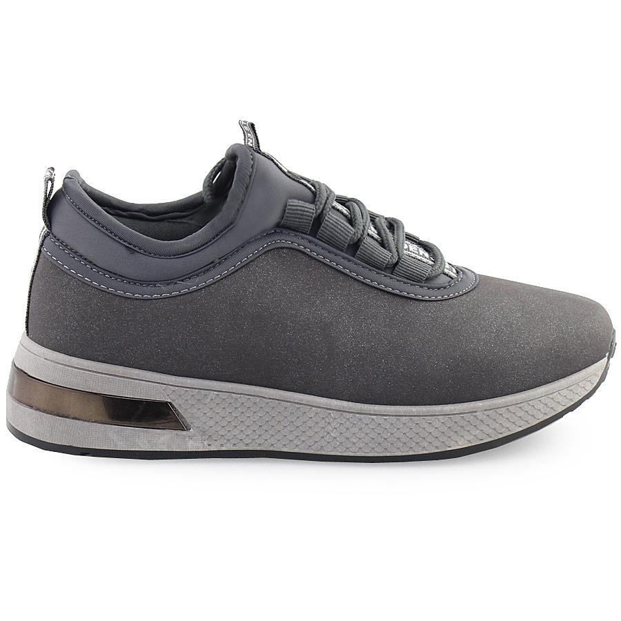 3fee6816b1d Γυναικεία sneakers με glitter Γκρι