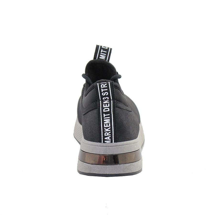 Εικόνα από Γυναικεία sneakers με glitter Μαύρο b69b55ab615