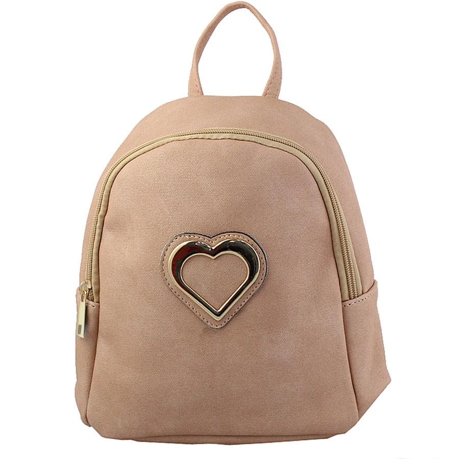 Εικόνα από Σακίδια πλάτης με μεταλλική καρδιά Ροζ