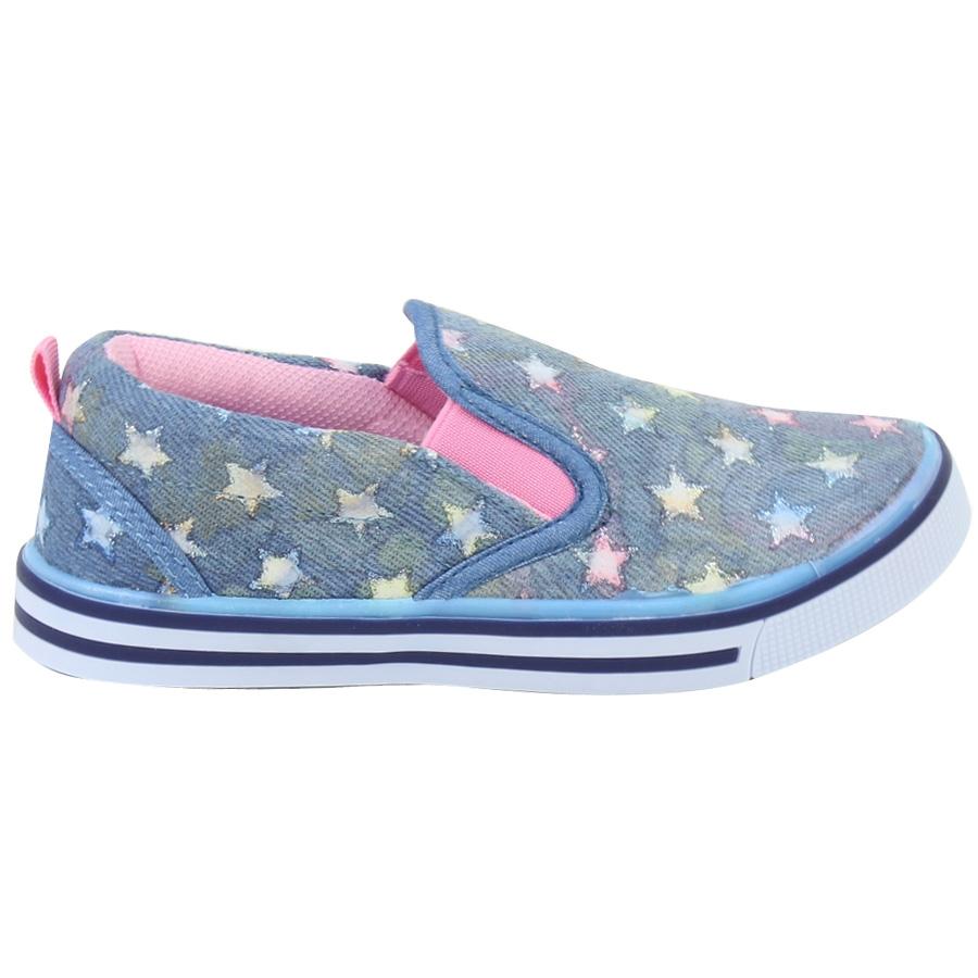 Εικόνα από Παιδικά casual με λάστιχο και αστεράκια Τζιν