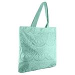 Εικόνα από Γυναικείες τσάντες ώμου με πλεκτό σχέδιο Τιρκουάζ