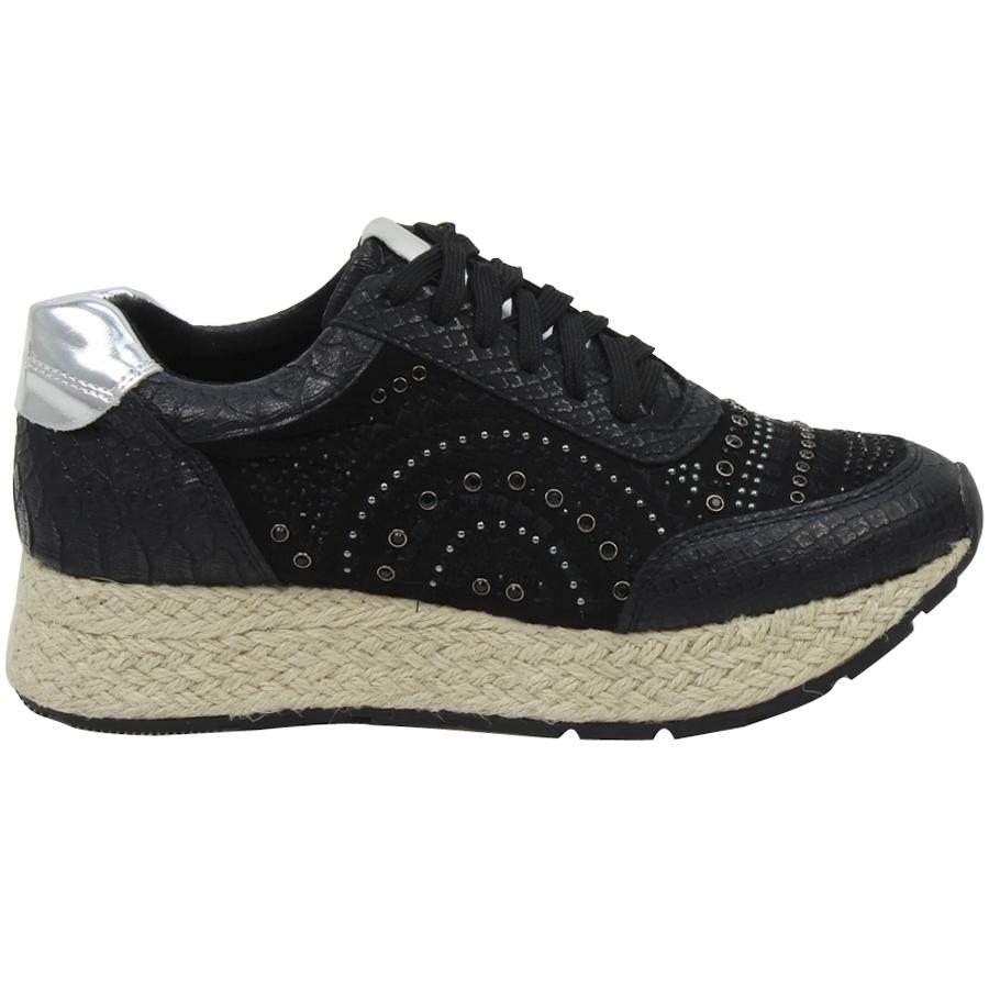 Inshoes.gr. Γυναικεία sneakers με strass και εσπαντρίγια - Inshoes ... 3388f489f7e
