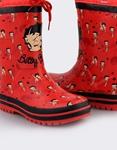 Εικόνα από Παιδικές γαλότσες Betty Boop Κόκκινο