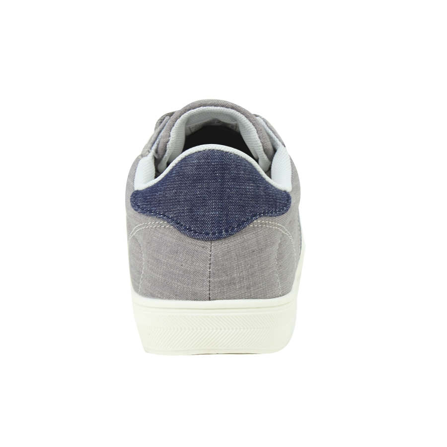 Εικόνα από Ανδρικά sneakers με λεπτομέρεια από τζιν ύφασμα Γκρι