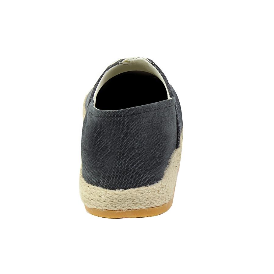 Εικόνα από Ανδρικές εσπαντρίγιες με τζιν ύφασμα Μαύρο