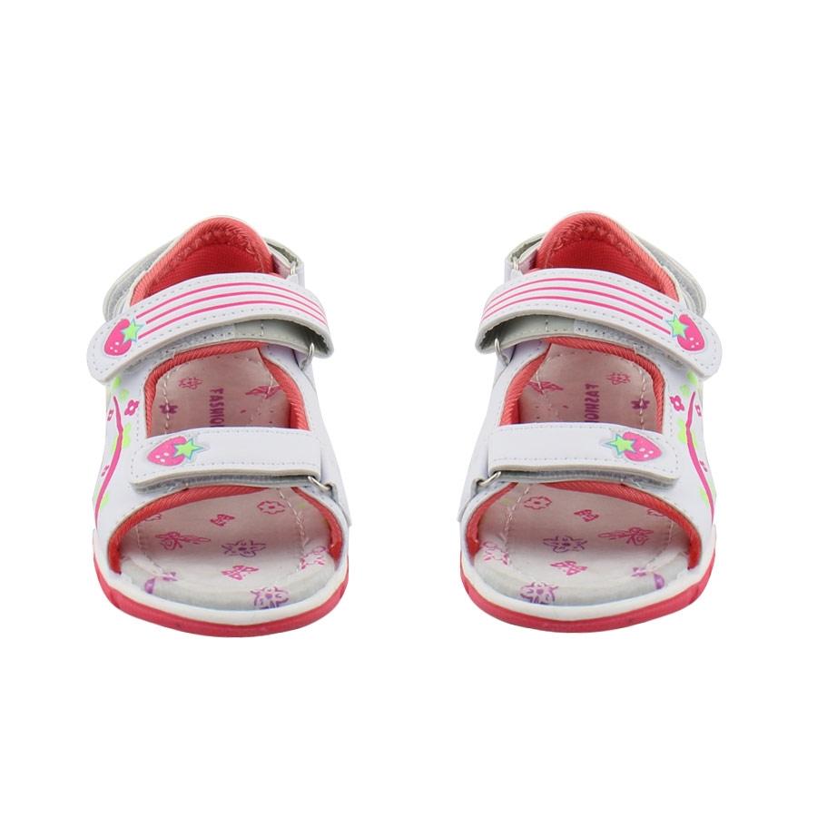 Εικόνα από Παιδικά πέδιλα με φραουλίτσες Λευκό