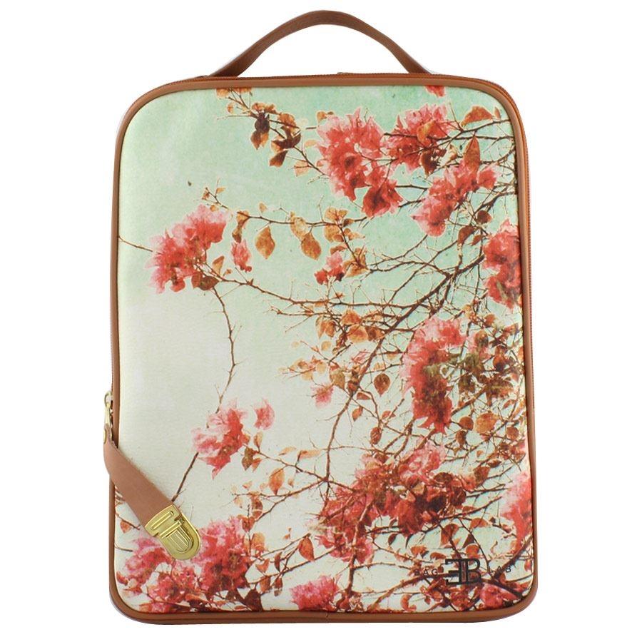 Εικόνα από Σακίδια πλάτης με print ροζ λουλούδια Ταμπά
