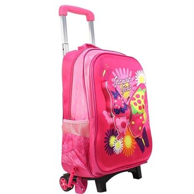 9e718d3520 -48% Inshoes Τσάντες σχολικές με παραστάσεις Ροζ ροζ
